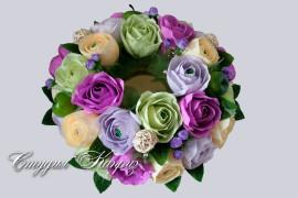 Цветочное колье
