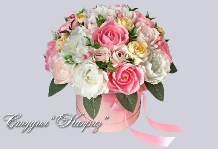 Бело-розовый рассвет